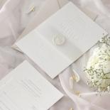 Immaculate Letterpress - Wedding Invitations - IC550-LPBD-02 - 184941