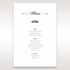 Country Lace Pocket Menu Cards in Ivory DM115086