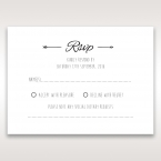 Country Lace Pocket RSVP Cards in Ivory DV115086