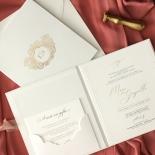Hardcover Textured White - Wedding Invitations - HC-TW01 - 184352