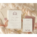Royal Crest - Wedding Invitations - DWI1190027 - 184356