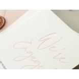 Blushed Engagement - Wedding Invitations - WP-IC55-LP-12 - 184449