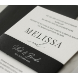 Bold Ebony Letterpress - Wedding Invitations - WP-IC55-LP-04 - 184438