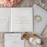 Lush Leather Hardcover - Wedding Invitations - HC-LLWH-01 - 184948