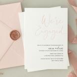 Blushed Engagement - Wedding Invitations - WP-IC55-LP-12 - 184452