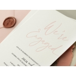 Blushed Engagement - Wedding Invitations - WP-IC55-LP-12 - 184451