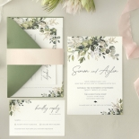 Captivating Greenery - Wedding Invitations - WP-CP02-GG-01 - 184478