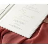Hardcover Textured White - Wedding Invitations - HC-TW01 - 184347