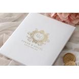 Lush Leather Hardcover - Wedding Invitations - HC-LLWH-01 - 184949
