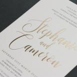 Simply Rustic and Foil - Wedding Invitations - WP-IC55-BLBF-01-7869 - 184888