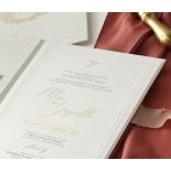 Hardcover Textured White - Wedding Invitations - HC-TW01 - 184349