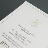 Framed Monogram - Wedding Invitations - IC330-GG-BL-01 - 184851