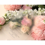 Lux Gold Foiled Acrylic - Wedding Invitations - ACR-FLBL-FR-1 - 184364