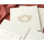 Hardcover Textured White - Wedding Invitations - HC-TW01 - 184350