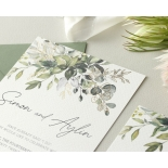 Captivating Greenery - Wedding Invitations - WP-CP02-GG-01 - 184474