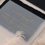 The Vintage Letter - Wedding Invitations - DEBL-GG-01 - 185170