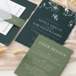 Forest Romance - Wedding Invitations - GI-MB300-WH-14 - 185328