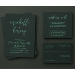 Green on Green - Wedding Invitations - WP305GG - 183745
