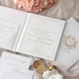 Lush Leather Hardcover - Wedding Invitations - HC-LLWH-01 - 184952