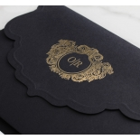 Stunning Regal Ebony Pocket - Wedding Invitations - BP-SOLPW-TR30-GG-01 - 184057