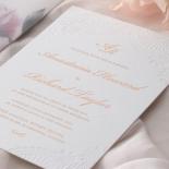 Regal Charm Letterpress - Wedding Invitations - IC55-RG-LPBD-10 - 185130