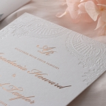 Regal Charm Letterpress - Wedding Invitations - IC55-RG-LPBD-10 - 185132