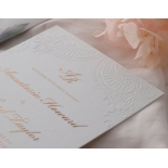 Regal Charm Letterpress - Wedding Invitations - IC55-RG-LPBD-10 - 185133