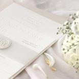 Immaculate Letterpress - Wedding Invitations - IC550-LPBD-02 - 184942