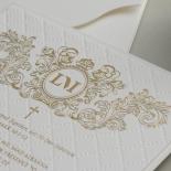 Quilted Half Pocket Royal Elegance - Wedding Invitations - WP309GG - 183827