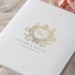 Lush Leather Hardcover - Wedding Invitations - HC-LLWH-01 - 184955