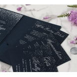 Midnight Sparkle - Wedding Invitations - BP-SOLPW-TR30-NS - 184096