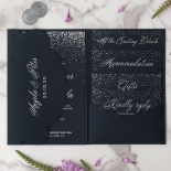 Midnight Sparkle - Wedding Invitations - BP-SOLPW-TR30-NS - 184097