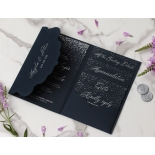 Midnight Sparkle - Wedding Invitations - BP-SOLPW-TR30-NS - 184100