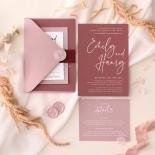 Wild Plum - Wedding Invitations - GI-CP350-WH-17 - 185368