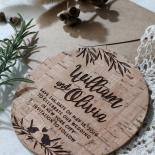 Springtime Love wedding save the date stationery card item