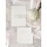 Immaculate Letterpress - Wedding Invitations - IC550-LPBD-02 - 184943