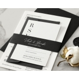 Sophisticated in Grey Letterpress - Wedding Invitations - WP-IC55-LP-01 - 184203