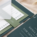Forest Romance - Wedding Invitations - GI-MB300-WH-14 - 185329