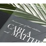 Acrylic Modern Romance- COPY - Wedding Invitations - NOB117300-WH-C-7625 - 183932