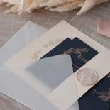 Pre Foiled Blush Floral Wreath - Wedding Invitations - PM-CP02-PFL-B-01 - 184718