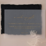 The Vintage Letter - Wedding Invitations - DEBL-GG-01 - 185173