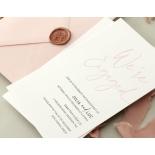 Blushed Engagement - Wedding Invitations - WP-IC55-LP-12 - 184453