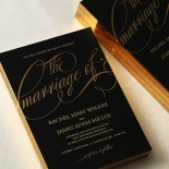 A Polished Affair Wedding Card Design