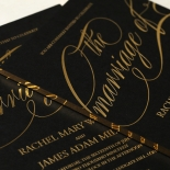 A Polished Affair Wedding Invite Design
