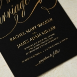A Polished Affair Invitation Design