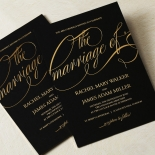 A Polished Affair Wedding Invitation Design