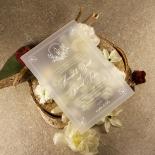 Acrylic Ace of Spades Wedding Invite