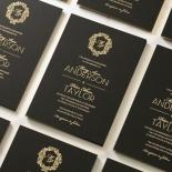 Aristocrat Wedding Invite Card