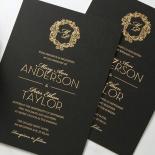 Aristocrat Invite Card