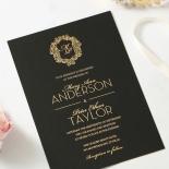 Aristocrat Wedding Invitation Card